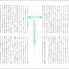 左右のページのノドのアキが合うように余白を設定する